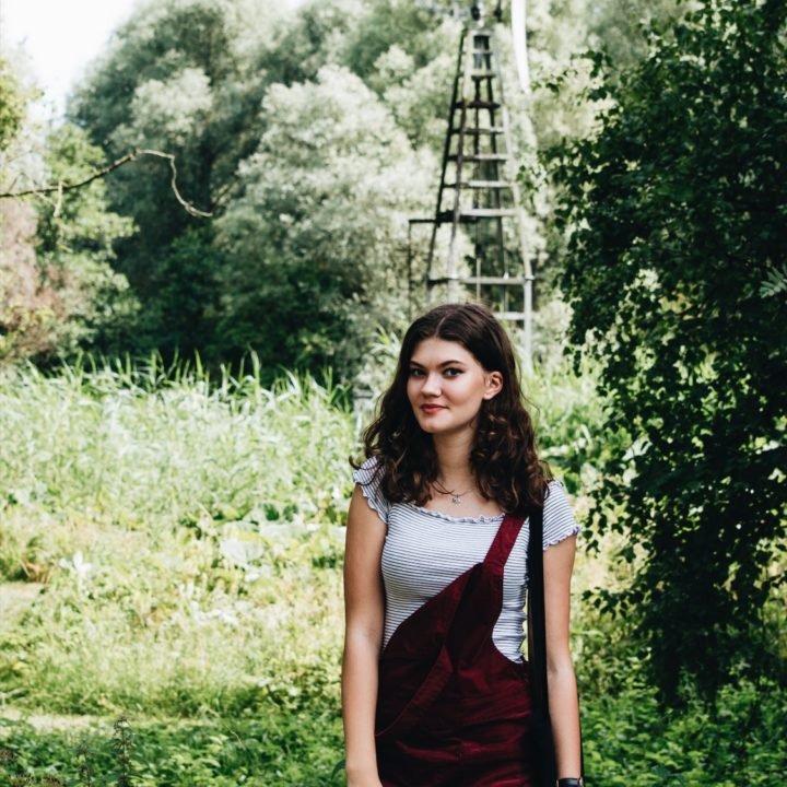OOTD — Burgundy overalls