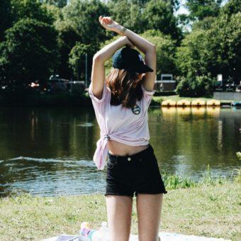 OOTD — Summer park chillings