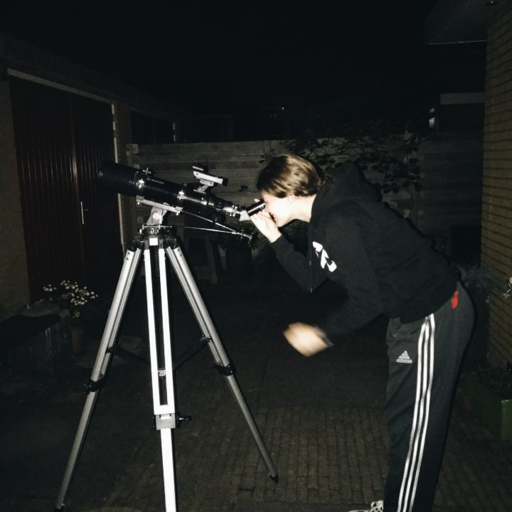My love for the telescope