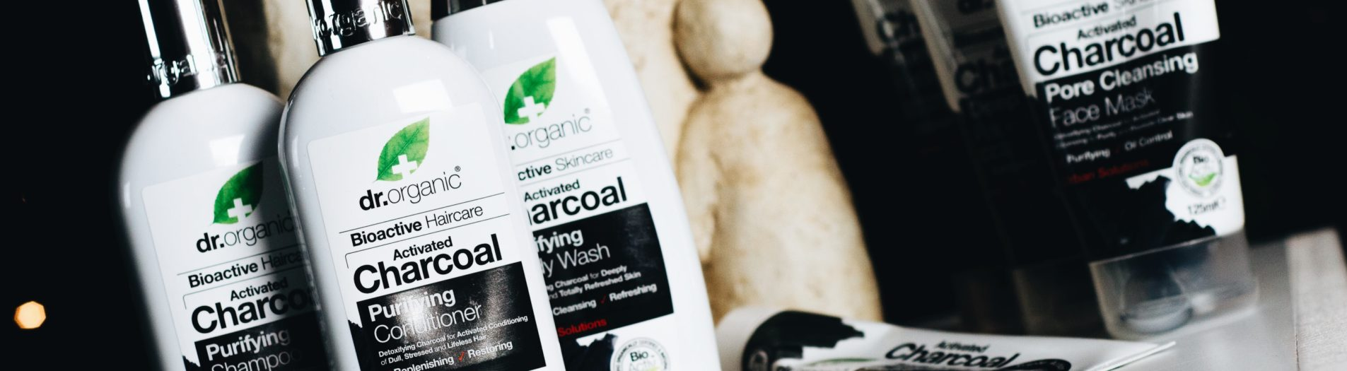 Dr. Organic: activated charcoal