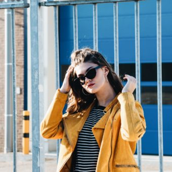 OOTD — Blue and yellow